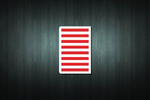 United States Flag Euro Style Number Plate Sticker