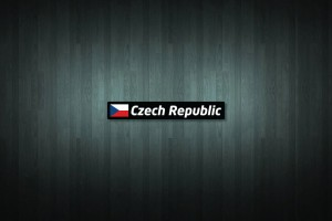 Czech Republic Flag and Country Vinyl Decal Stickers