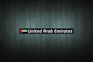 United Arab Emirates Flag and Country Vinyl Decal Stickers