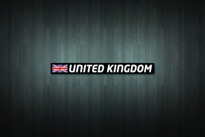 United Kingdom Flag and Country Vinyl Decal Stickers