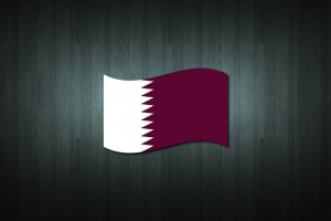 Qatar Flag Vinyl Decal Sticker