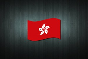 Hong Kong Flag Vinyl Decal Sticker