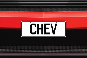 Chev Licence Plate