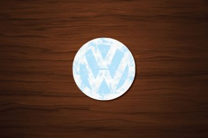 VW Drink Coaster