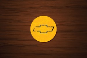 Chevrolet Bowtie Drink Coaster