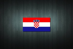 Croatia Flag Vinyl Decal Sticker
