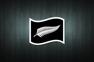 Silver Fern Flag Vinyl Decal Sticker