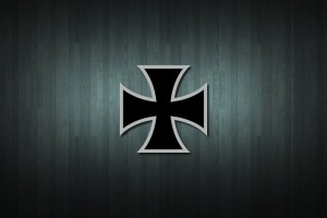 Iron Cross Vinyl Decal Sticker
