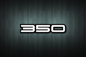 350 Vinyl Decal Sticker
