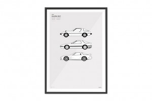Mazda RX-7 Evolution Poster