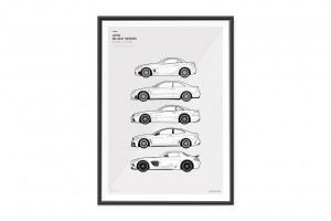 AMG Black Series Evolution Poster