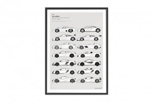 McLaren Production History Poster