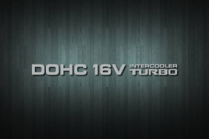 DOHC 16V Intercooler Turbo Vinyl Decal Sticker