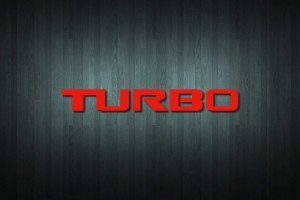 Turbo Vinyl Decal Sticker