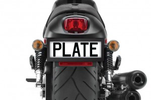 Motorbike Number Plate Surrounds
