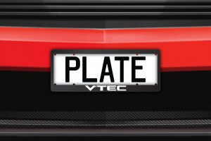 VTEC Number Plate Surrounds