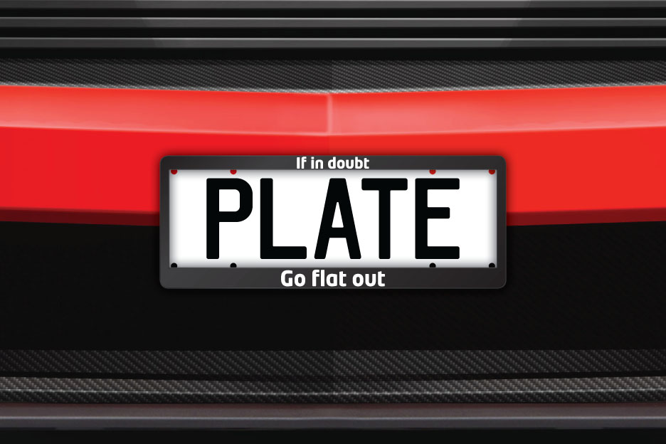 If In Doubt, Go Flat Out