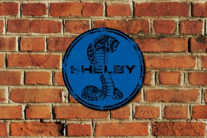 Shelby Metal Sign