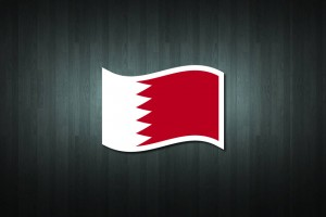 Bahrain Flag Vinyl Decal Sticker