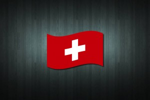 Switzerland Flag Vinyl Decal Sticker