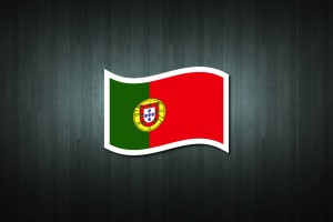 Portugal Flag Vinyl Decal Sticker