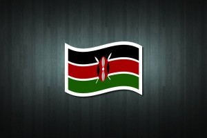 Kenya Flag Vinyl Decal Sticker