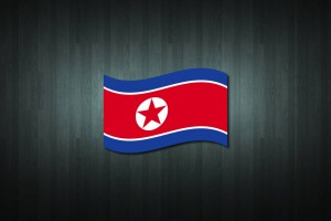 North Korea Flag Vinyl Decal Sticker