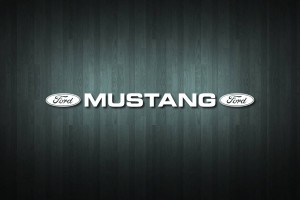 Ford Mustang Vinyl Decal Sticker