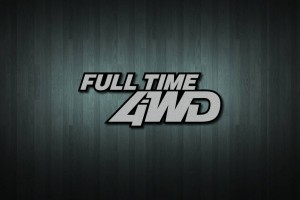 Full Time 4WD Vinyl Decal Sticker