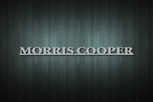 Morris Cooper Vinyl Decal Sticker