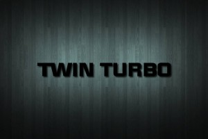 Twin Turbo Vinyl Decal Sticker