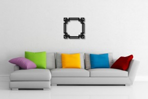 Interlaced Border Decorative Wall Art