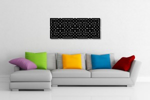 Interlaced Moorish Decorative Wall Art