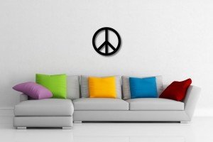 Peace Sign Decorative Wall Art