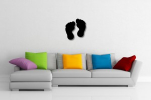 Feet Decorative Wall Art