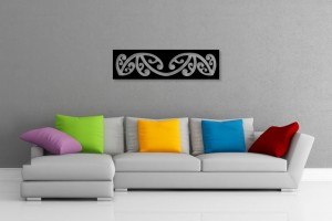 Maori Pattern Decorative Wall Art