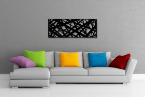 Abstract Rectangle Decorative Wall Art