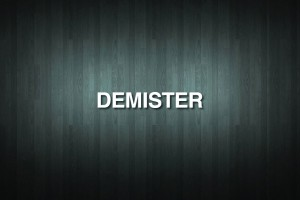 DEMISTER Vinyl Decal Sticker