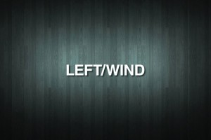 LEFT/WIND Vinyl Decal Sticker