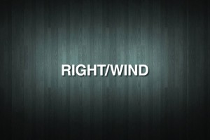 RIGHT/WIND Vinyl Decal Sticker