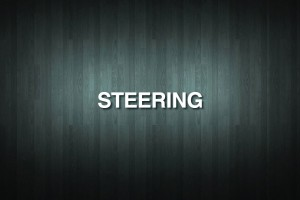 STEERING Vinyl Decal Sticker