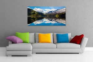 Mountain Reflection Wall Art