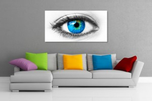 Blue Eye Wall Art