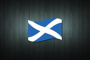 Scotland Flag Vinyl Decal Sticker