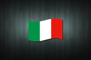 Italy Flag Vinyl Decal Sticker