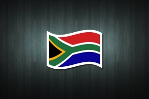 South Africa Flag Vinyl Decal Sticker