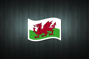 Wales Flag Vinyl Decal Sticker