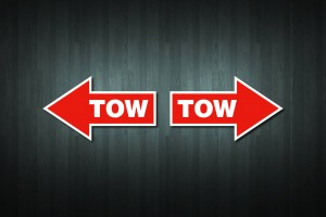 Tow Vinyl Decal Stickers