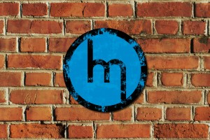 Oldschool Mazda M Metal Sign