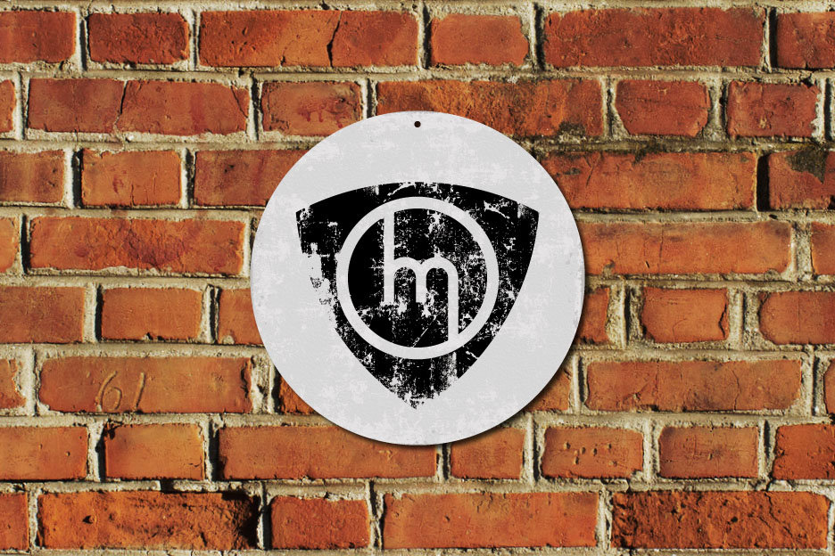 Oldschool Mazda Rotary M Metal Sign